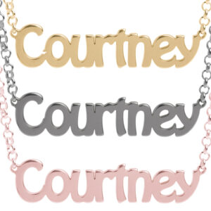 Personalized Name Necklace Real 925 Sterling Silver
