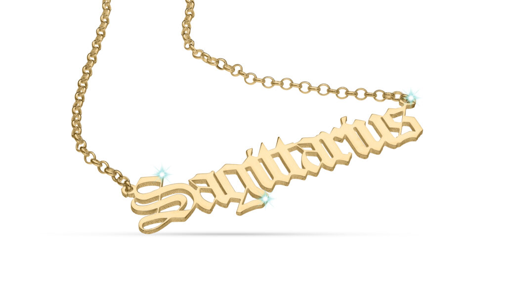 A Love Island of Name Necklaces